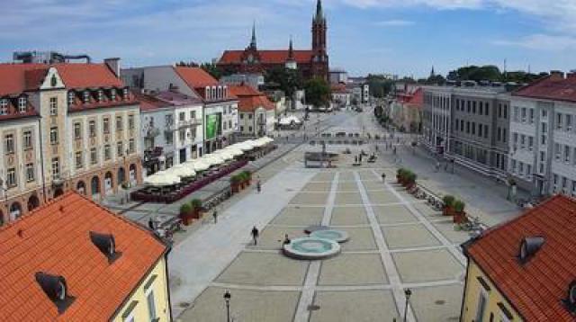Widok na Rynek Kościuszki - Białystok